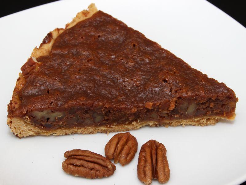 pekan caramel tart