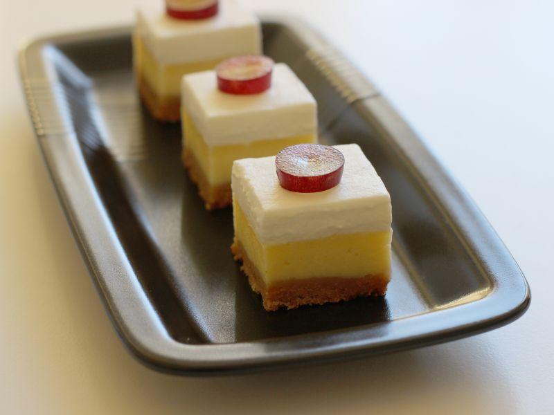 cheesecake -würfel