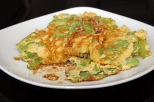 Omelette mit Bittermelone