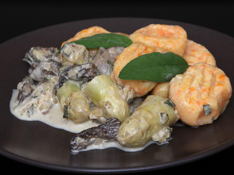 Möhren-Gnocchi