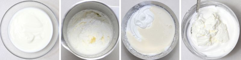 Joghurtcreme serie