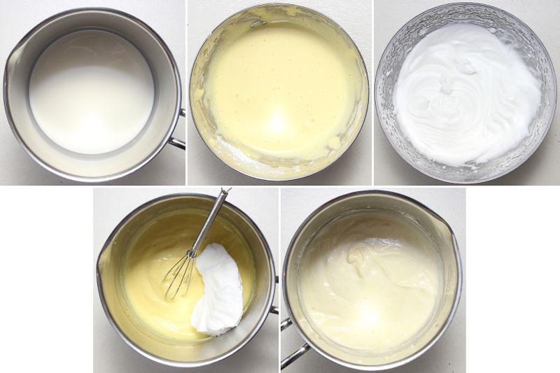 Leichte Vanillecreme