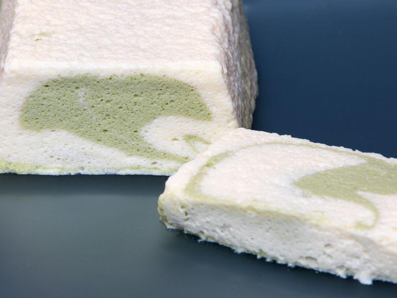 matcha vanille mousse4