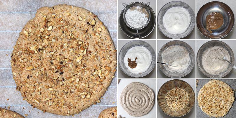Nougat Biskuit Dacquoise Serie