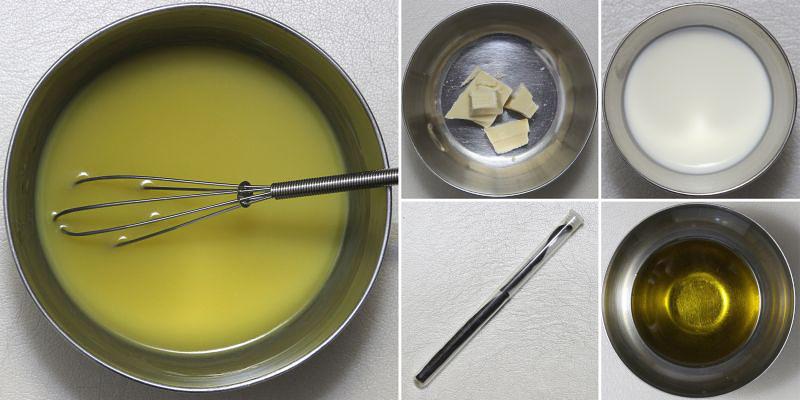 Olivenöl-Ganache Serie