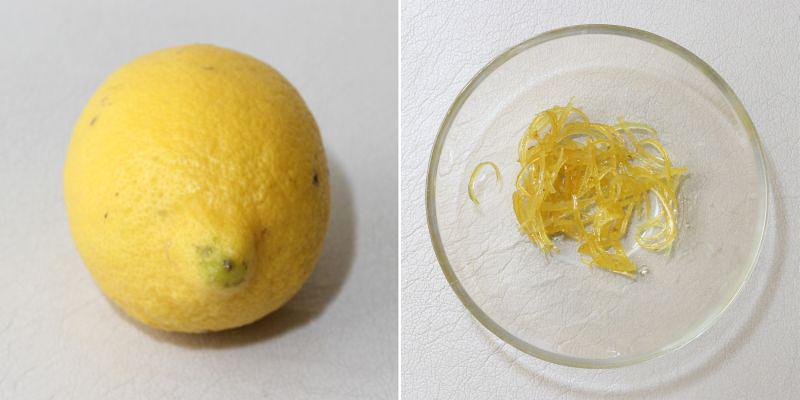 kandierte Zitronenschalen Serie