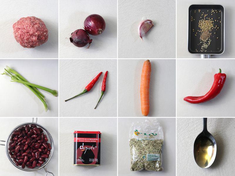 zutaten chili serie