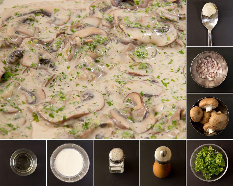 champignon sosse serie