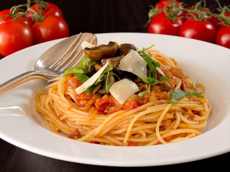 spaghetti mit Salsicce9