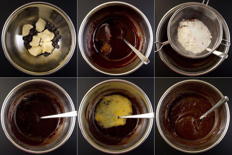 brownie teig serie