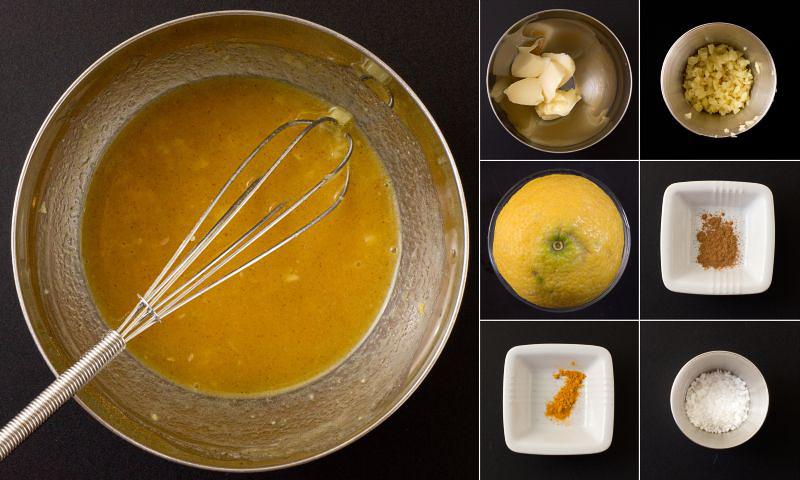 zitronen ingwer butter serie