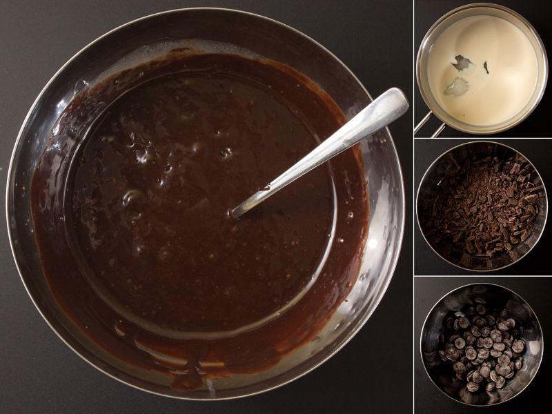 schokoladenspiegel-überzug serie