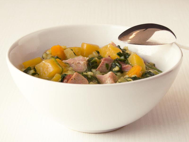 steckrübeneintopf mit spinat und garupen 9