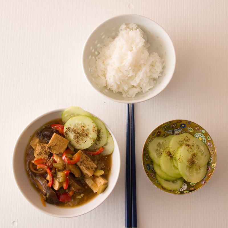 tofu mit schwarzem essig 11