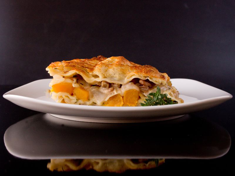 kürbis fenchel lasagne 1