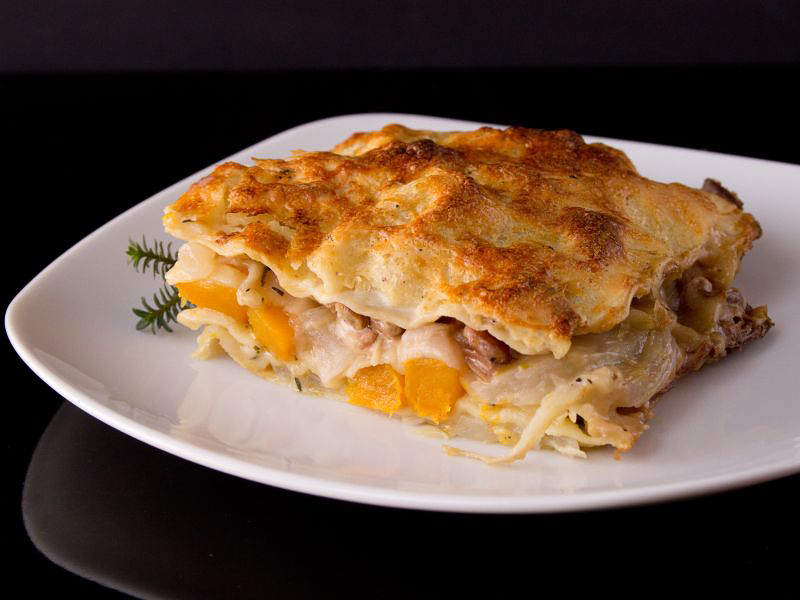 kürbis fenchel lasagne 4