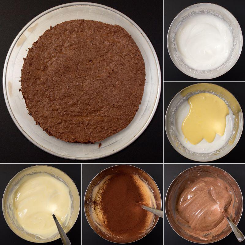 schokoladenbiskuitbiskuit ohne mehl serie