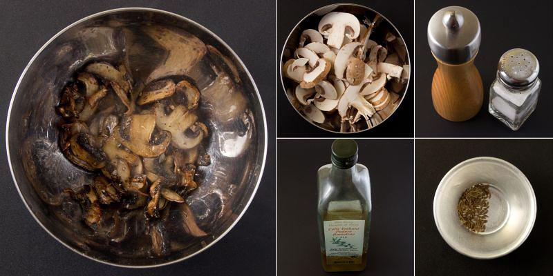 knausprige champignons serie