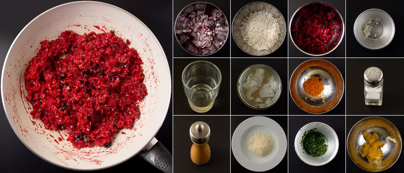 rote bete-risotto serie