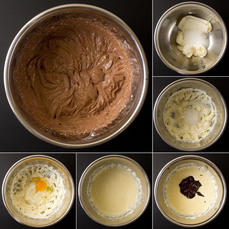 schokoladen cheesecakemasse serie