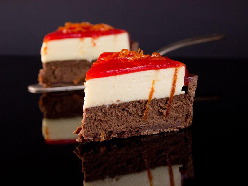 Schokoladen-Cheesecake