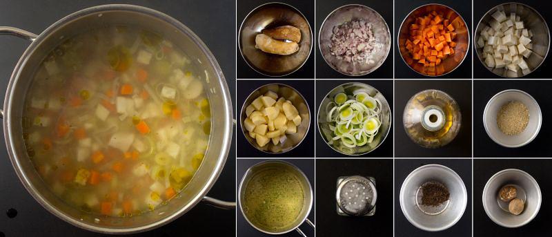 kartoffel pilz suppe serie