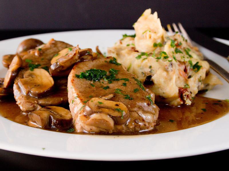 kalbsschnitzel mit marsala 4