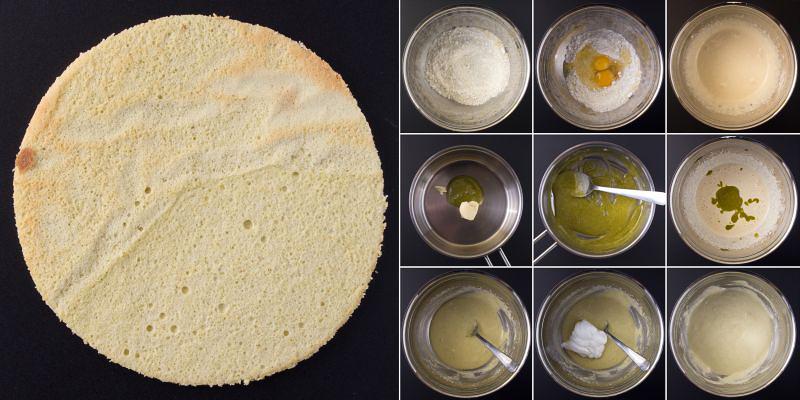 pistazien joconde biskuit serie