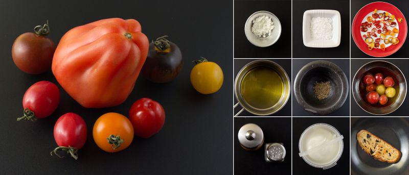 zutaten tomatensalat serie