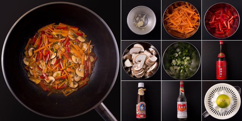 Asia Gemüse Serie