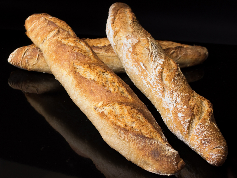 Haferbaguettes 02