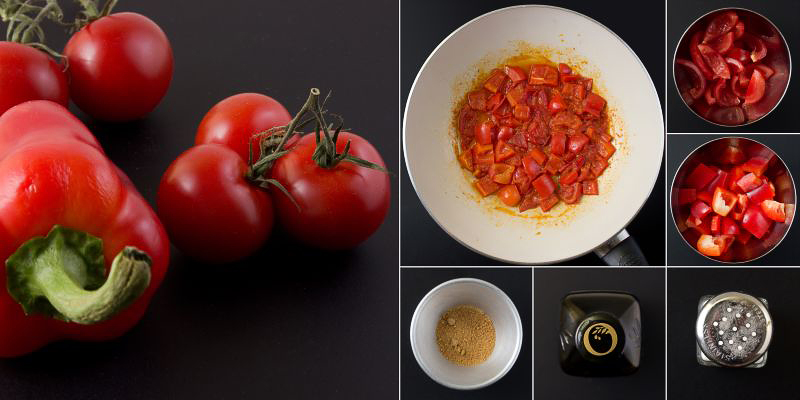 paprika topping serie