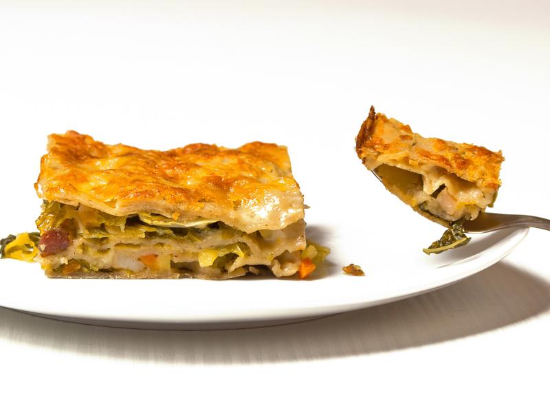 Wirsing Buchweizen Lasagne 4