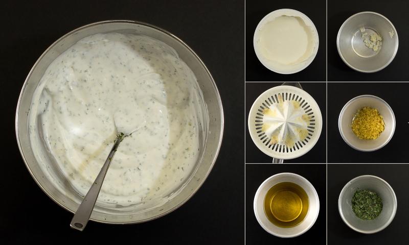 Joghurtsosse serie