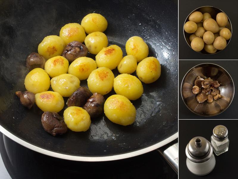 Kartoffel maronen serie