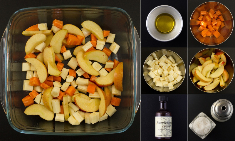 Gemüse aus dem ofen serie