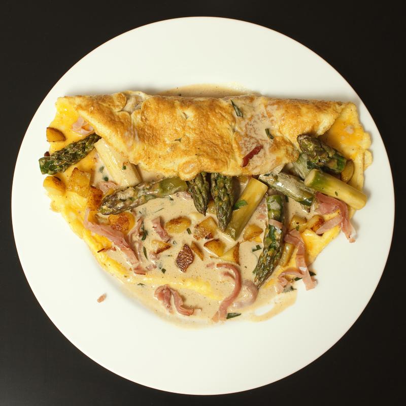 Spargel Omelette 1