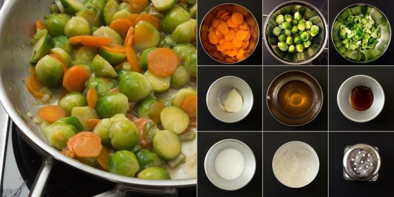Gemüse Serie