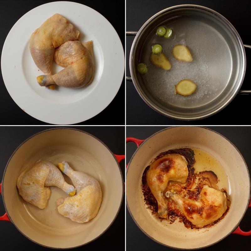 Huhn, nass gepökelt2