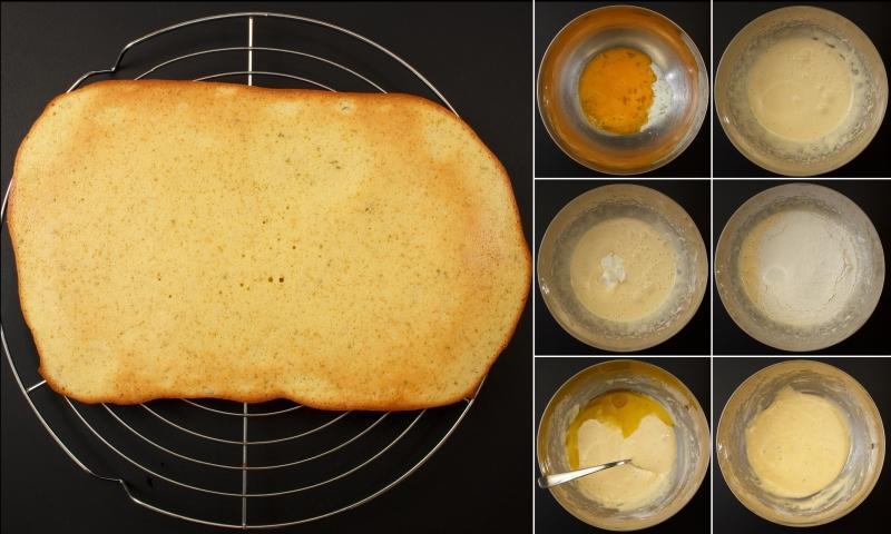 Limetten-Biskuit