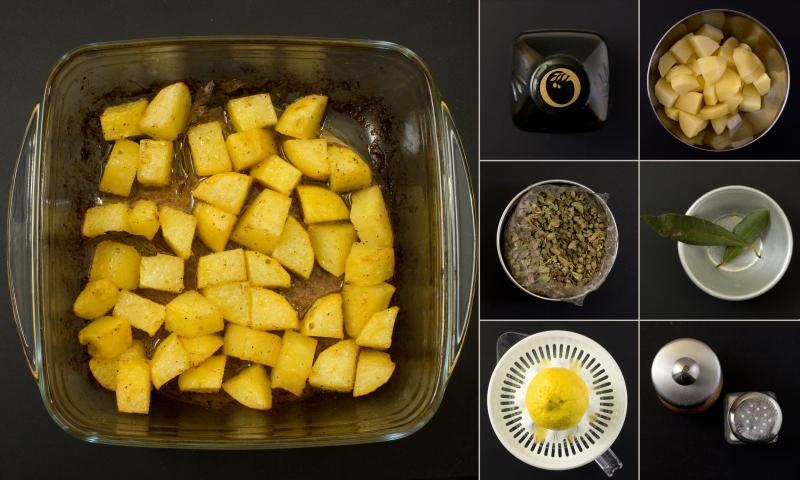 Zitronen-Kartoffeln-serie
