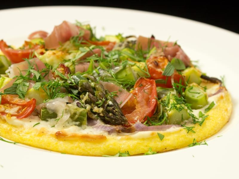 Polenta Pizza 2