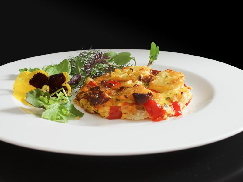 Tortilla mit Chorizo 2