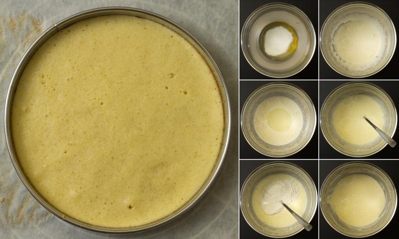 ZitronenbiskuitmitOlivenöl
