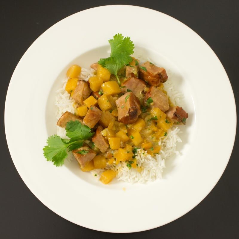 Curry mit Kassler und Steckrübe1