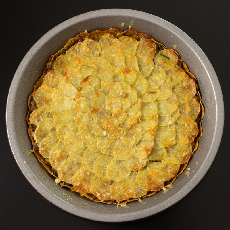 Kartoffel-Linsen-Gratin1