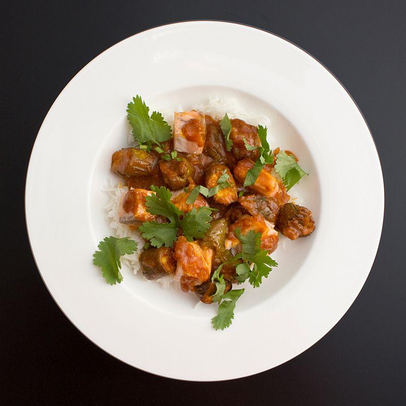 Fisch-Curry mit Auberginen1