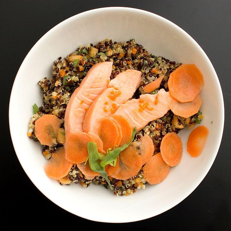 Lachs mit Quinoa3